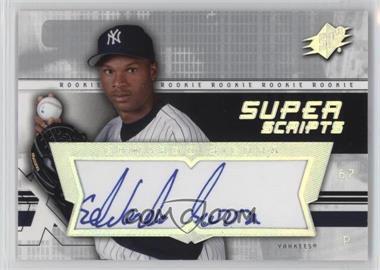 2004 SPx - Super Scripts Rookie Autographs #SU-ES - Edwardo Sierra