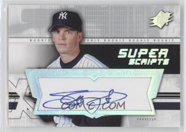 2004 SPx - Super Scripts Rookie Autographs #SU-SP - Scott Proctor