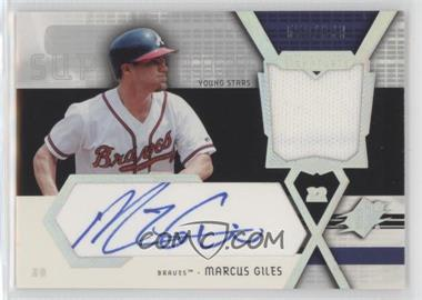 2004 SPx - Swatch Supremacy Young Stars #SS-MG - Marcus Giles /999