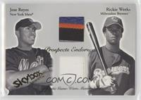 Jose Reyes, Rickie Weeks /50