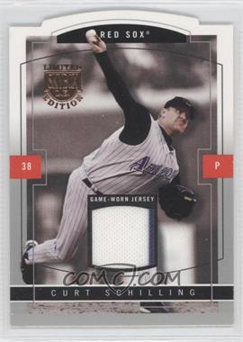 2004 Skybox Limited Edition - Jersey Proof - Silver #2 - Curt Schilling /50
