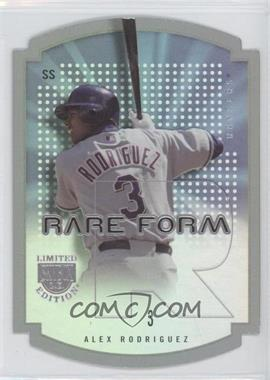 2004 Skybox Limited Edition - Rare Form #7 RF - Alex Rodriguez