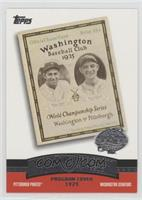 Pittsburgh Pirates Team, Washington Senators Team