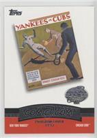New York Yankees Team, Chicago Cubs Team [EXtoNM]