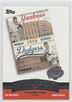 New York Yankees Team, Brooklyn Dodgers Team