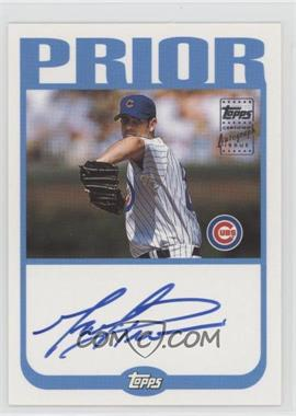 2004 Topps - Autographs #TA-MP - Mark Prior