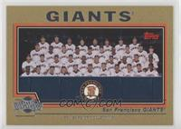 San Francisco Giants Team #/2,004