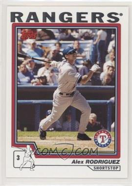 2004 Topps - [Base] #100 - Alex Rodriguez
