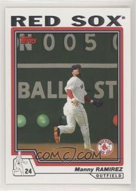 2004 Topps - [Base] #220 - Manny Ramirez