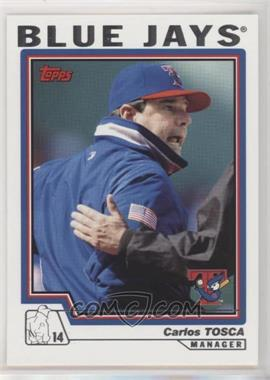 2004 Topps - [Base] #296 - Carlos Tosca