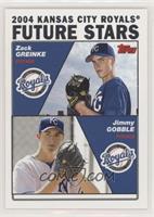 Future Stars - Zack Greinke, Jimmy Gobble