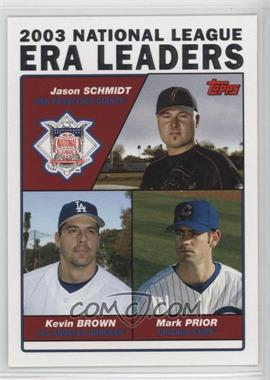 2004 Topps - [Base] #347 - Jason Schmidt, Kevin Brown, Mark Prior [GoodtoVG‑EX]
