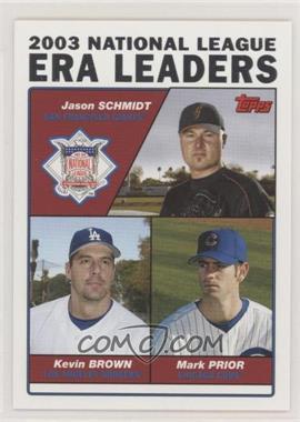 2004 Topps - [Base] #347 - Jason Schmidt, Kevin Brown, Mark Prior [EXtoNM]