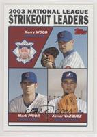 Kerry Wood, Mark Prior, Javier Vazquez [EX to NM]