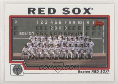 2004 Topps - [Base] #642 - Boston Red Sox Team