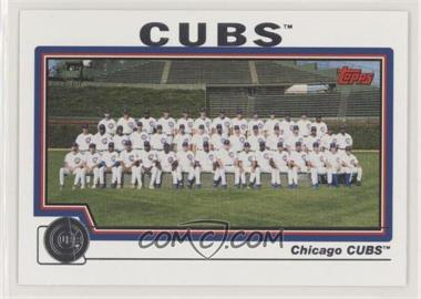 2004 Topps - [Base] #643 - Chicago Cubs Team