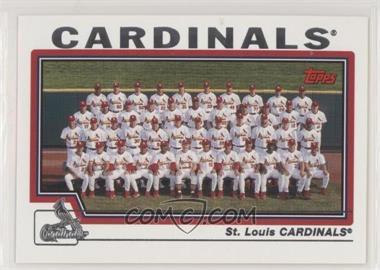 2004 Topps - [Base] #664 - St. Louis Cardinals Team