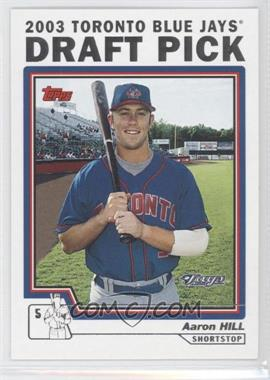 2004 Topps - [Base] #678 - Aaron Hill
