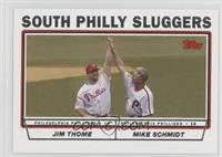 South Philly Sluggers (Jim Thome, Mike Schmidt)
