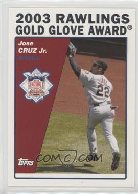2004 Topps - [Base] #712 - Jose Cruz Jr.