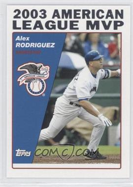 2004 Topps - [Base] #716 - Alex Rodriguez