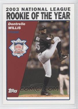2004 Topps - [Base] #718 - Dontrelle Willis