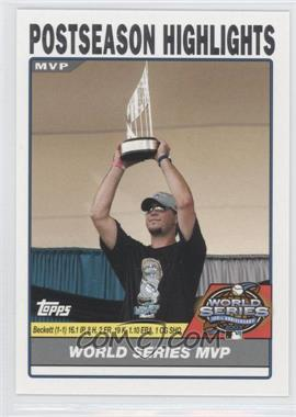 2004 Topps - [Base] #733 - Postseason Highlights - Josh Beckett