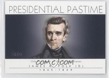2004 Topps - Presidential Pastime #PP11 - James K. Polk