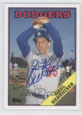 2004 Topps All-Time Fan Favorites - Certified Autograph Issue #FFA-OH - Orel Hershiser