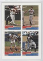 Mike Piazza, Mike Sweeney, Jay Gibbons, Chipper Jones