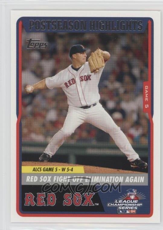 2004 Topps Boston Red Sox World Series Box Set Base 47