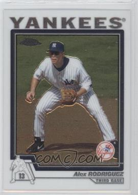 2004 Topps Chrome Traded & Rookies - [Base] #T50 - Alex Rodriguez