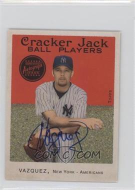 2004 Topps Cracker Jack - [???] #112 - Javier Vazquez