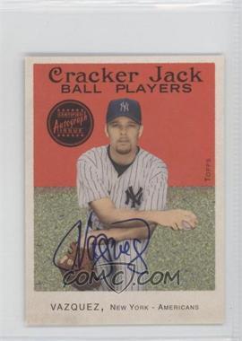 2004 Topps Cracker Jack - [Base] - Mini Autographs [Autographed] #112 - Javier Vazquez