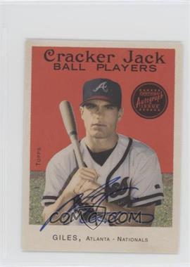 2004 Topps Cracker Jack - [Base] - Mini Autographs [Autographed] #165 - Marcus Giles