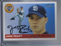 Jake Peavy [PSA/DNA Certified COA Sticker]