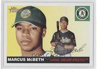Marcus Mcbeth Rookie Card Baseball Cards
