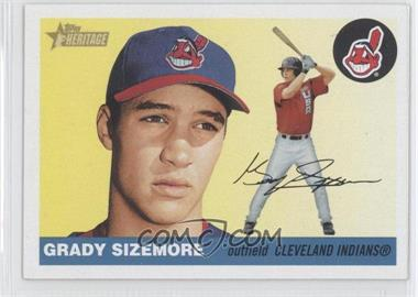 2004 Topps Heritage - [Base] #447 - Grady Sizemore