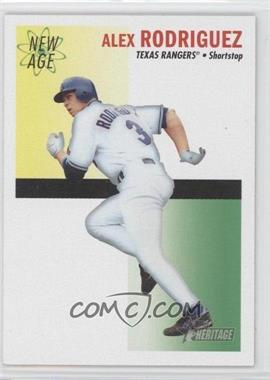 2004 Topps Heritage - New Age Performers #NAP3 - Alex Rodriguez