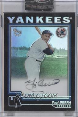 2004 Topps Retired Signature Edition - Autographs - Refractors #TA-YB - Yogi Berra /25