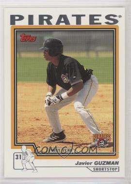 2004 Topps Traded and Rookies - [Base] #T196 - Javier Guzman
