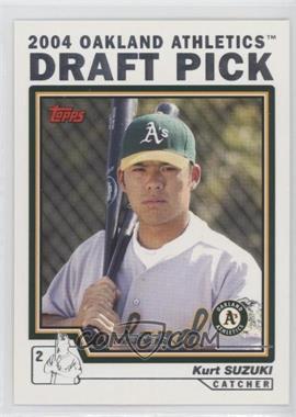 2004 Topps Traded and Rookies - [Base] #T87 - Kurt Suzuki