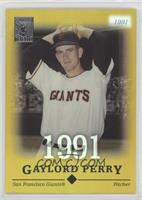 Gaylord Perry #/91