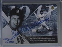 Ted Williams [Noted] #/2,500