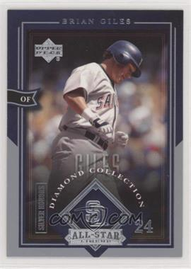 2004 Upper Deck Diamond Collection All-Star Lineup - [Base] - Honors Silver #72 - Brian Giles