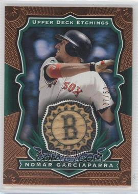 2004 Upper Deck Etchings - Baseball Etching Bats - Green #BE-NG - Nomar Garciaparra /50