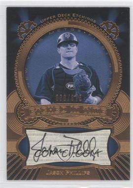 2004 Upper Deck Etchings - Etched in Time Autographs #ET-JP - Jason Phillips /375