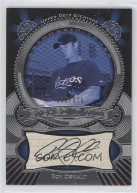 2004 Upper Deck Etchings - Etched in Time Autographs #ET-RO - Roy Oswalt /375