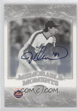2004 Upper Deck Legends Timeless Teams - [Base] - Silver Autographs [Autographed] #258 - Jesse Orosco