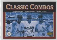 Classic Combos - Edgar Renteria, Alex Rodriguez, Albert Pujols #/1,999